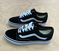 Vans Authentic Old Skool SuedeTrainers Black White Leather Unisex VN000D3HY28