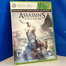 "Used ""Assassin's Creed III"" for XBOX 360, Signature Edition"