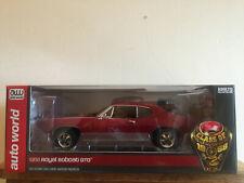 (NIB) Auto World Die-cast 1:18 1968 Pontiac Royal Bobcat GTO