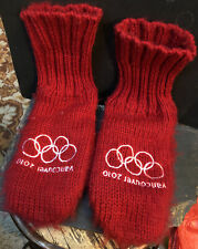 Vancouver Winter Olympics 2010 Red Mittens Size S/M Team Canada Hudson Bay