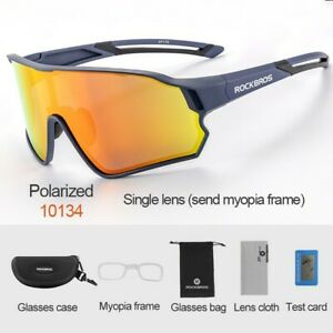 ROCKBROS Cycling Polarized Sunglasses Bicycle Outdoor Sports Eyewear Glasses