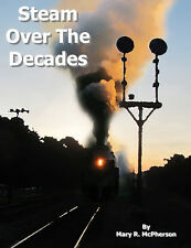 Steam Locomotive photo DVD - 496 Photos and detailed E-Book - 1940s to present