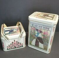 F. Hopkinson Smith's New Romance The Ladies' Home Journal TinCanisters - 2 Tins