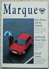 The MARQUE LANCIA In House Magazine SPRING 1992 DELTA HF INTEGRALE Aurelia DEDRA