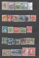 LOT  STAMPS  DENMARK USED  (L27568)