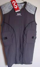 McDavid  NWT Large Men Hex Sleeveless Shirt 5-pad Integrated Top Gray #7932