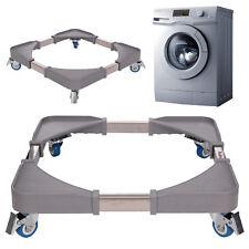 New Washing Machine Fridge Stand Appliance Wheel Adjustable Trolley Roller UK