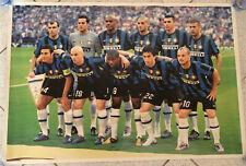 Poster Inter Finale Champions 2010 Squadra