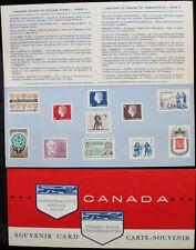 1963 CANADA SOUVENIR COLLECTION CARD 5 --- RARE Extra Fair