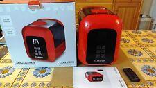 Umidificatore Ionizzatore Aroma Ultrasuoni 4,5l rosso Klarstein Sevilla