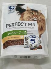 New Perfect Fit Cat Complete Senior 7+ Chicken - 750g 2pack £14.49