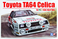 Toyota TA64 Celica 1984 Portugal Rally 1:24 Model Kit Beemax Aoshima 103142