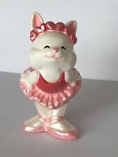 1988 Hallmark Valentines Merry Miniature Bunny Ballerina In Tutu, Qsm1512