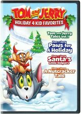 Tom and Jerry: Holiday 4 Kid Favorites [New DVD] 2 Pack