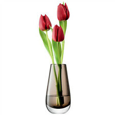 LSA Flower Colour Bud Vase H14cm - Mocha