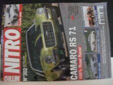 **ns Revue Nitro n°302 Dauphine 1961 Dragster - Chevrolet Corvette 1960