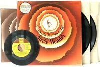"Stevie Wonder Songs In The Key of Life + Booklet + 7"" LP Vinyl Record Album"