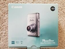 CANON POWERSHOT ELPH 100 HS 12.1 MP DIGITAL CAMERA + ACCESSORIES, BLUE