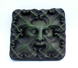 Green Man Reproduction Medieval Cathedral Carving Gothic Pagan Gift Greenman