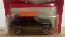 Majorette Movers-Black Jeep Cherokee Limited with Surfboards- NIP New Vintage