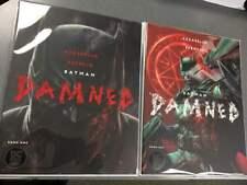 BATMAN DAMNED #1 Both Covers Set 1ST PRINT Uncensored NM DC Comics Black Label