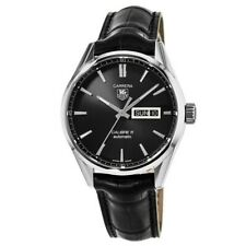 New Tag Heuer Carrera Calibre 5 Day-Date Automatic Men's Watch WAR201A.FC6266