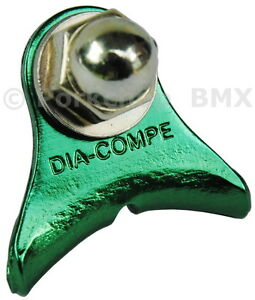 Dia-Compe 1242 bicycle canti cantilever center pull brake cable hanger GREEN
