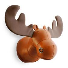 NEW Zuny Wallmount Rudo Moose - Tan/Brown Decor