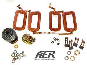 John Deere A 60 Starter Drive Brush Field Coil Rebuild Kit Delco 1108950 1108989