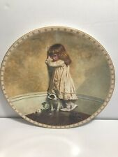 Royal Doulton In Disgrace collectible plate Charles Burton Barber artist