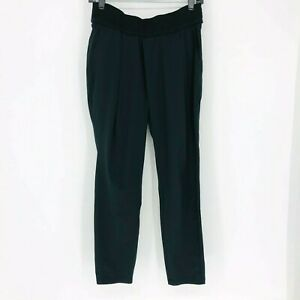 Athleta Women's 8 Black Interlude Ankle Pant Synthetic Ankle Length Quick Dry