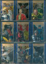 Marvel 75th Anniversary  90 Card Sapphire Parallel Set
