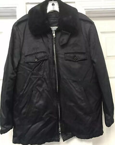Vintage Blauer Tufnyl Jacket Weather Resistant Officer Boston Police Lined 42R