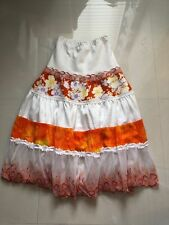 Women's Multi Color Unbranded Tiered Floral  Lined Skirt sz S