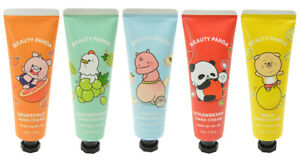 5pcs Botanical Moisturizes & Smoothes Hand Cream Made in Korea