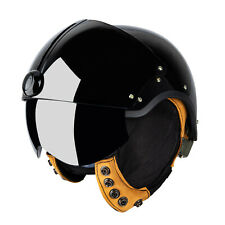 Black US Air Force Jet Fighter Pilot Helicopter Motorcycle Shoei Bike Helmet A