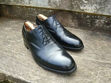 Cheaney Oxford Hombre Zapatos – Negro – UK 11.5 – Harrington R-Excelente Estado