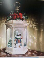 "Thomas Kinkade ""Winter In A Wonderland"" Illuminated Lantern"