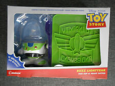 Buzz Lightyear Egg Cup and Toast Cutter