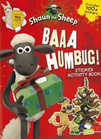 Baaa Humbug! A Shaun the Sheep Christmas Sticker Activity Book