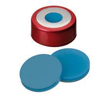 "ND20 Magnetic ""Bimetal"" Crimp Cap (8mm hole) with Si/PTFE Septa (2003 1536)"