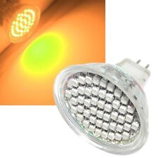 SMD LED Reflector MR16 - Naranja - 48 LEDs Foco GU 5,3 12V