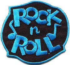 Rock n Roll biker retro slogan rockabilly music applique iron-on patch S-1117