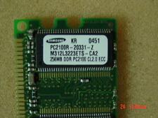 Test-PASS  W:30 ECC /& Register 168Pin  KMM390S3320BT1-GAQ SAMSUNG 256mb PC133