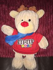 M&M's Chocolate Sweets M&m World  Soft Toy Reindeer  26 Cm Rare
