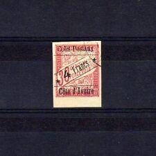 COTE D'IVOIRE Colis Postaux n° 10 oblitéré