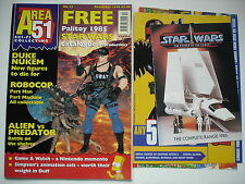 AREA 51 -   SCI FI MAGAZINE  -  STAR WARS CATALOGUE -  ISSUE 12  - RARE - 1998