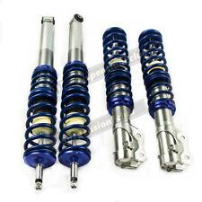 Coilovers Kit for VW Golf MK2 MK3 Vento and Corrado Coil Spring Struts Blue