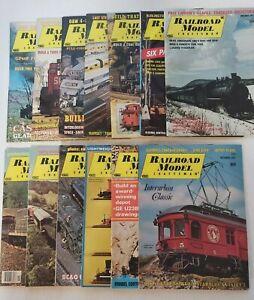 Vtg-  Railroad Model Craftsman Magazines (13 Issues) 1971-1976 🚄🚋 🚂