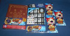 LOT YO-KAI WATCH TCG  Collection Book Medallium Pages Booster Packs NEW SEALED